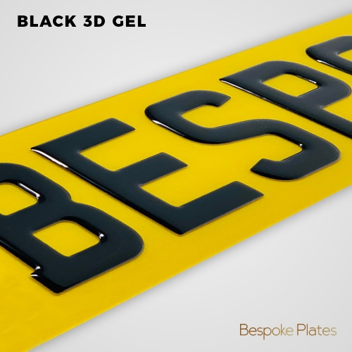Black 3D Gel