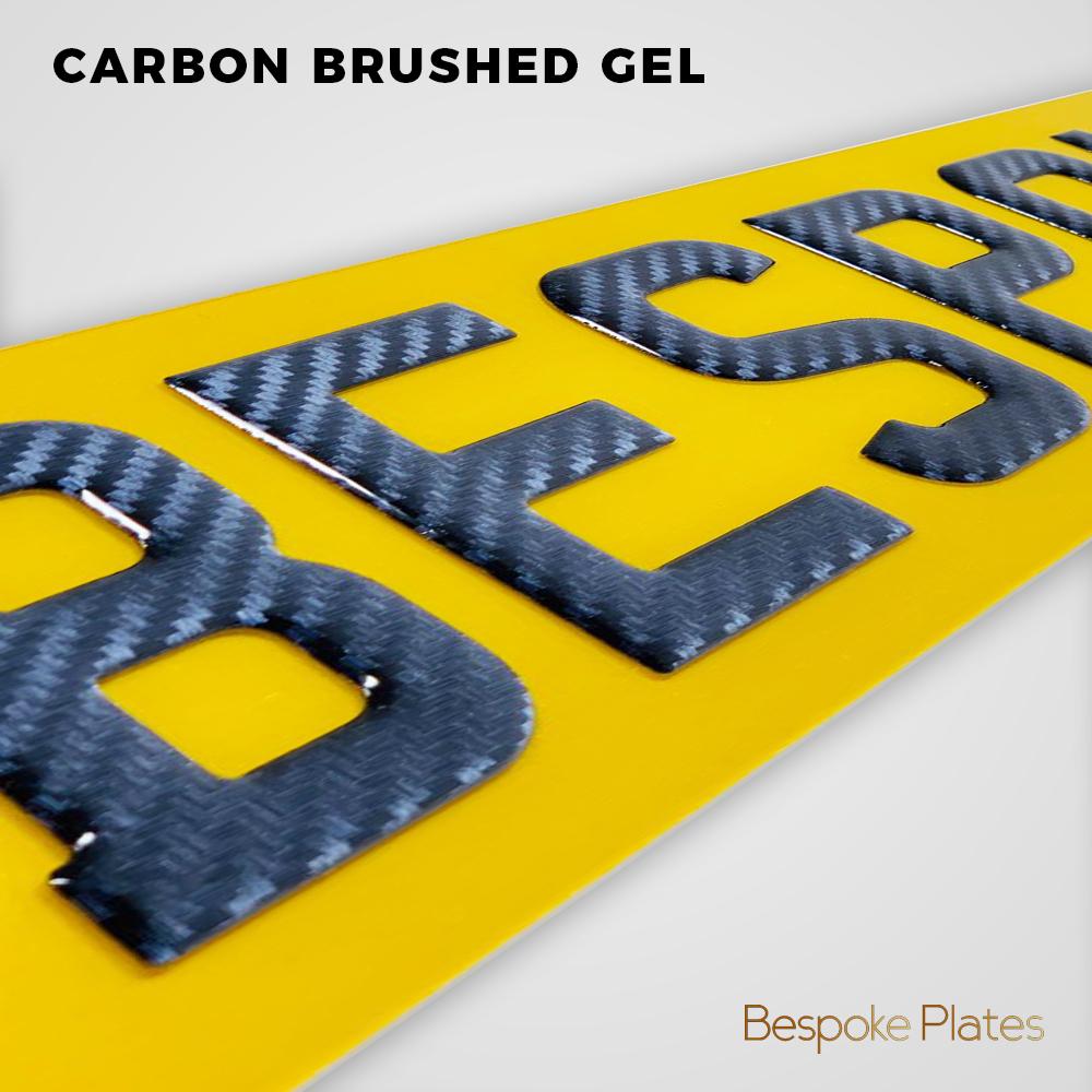 Carbon Brushed Gel
